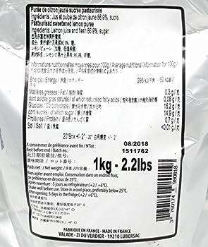 Léonce Blanc Purées de Fruits - Citron 1kg