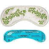 daydream V-6001 Aloe Vera Balance Schlafmaske mit AloeVera-Mikrokapseln im Stoff, mit Kühlkissen