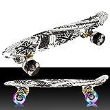 Ncient Cruiser Skateboard 55 CM Komplettes Deck Mini Kunststoff Skate