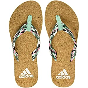 Adidas Women's Beach Cork Thong W Flip-Flops and House Slippers