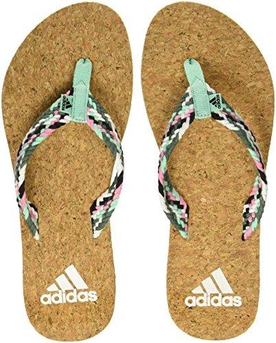 Adidas Women's Beach Cork Thong W Flip-Flops and House Slippers