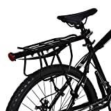 Cocoarm Fahrrad Gepäckträger Einstellbare Fahrradgepäckträger Gepäckträger mit Schutzblech Aluminiumlegierung Schnelle Installation