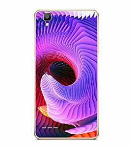 Fuson Designer Back Case Cover for Oppo F1 :: A35 (Imaginary Illusionary Colourful Bright Lovely)