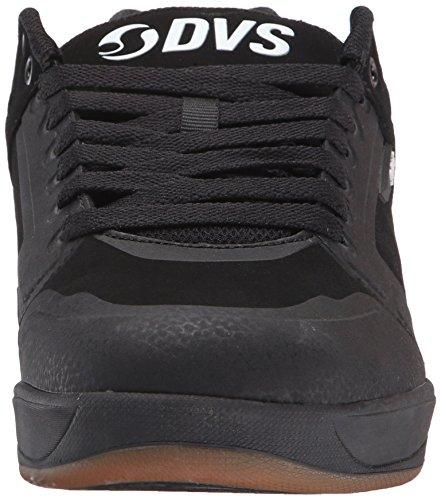 DVS (Elan Polo) Herren Enduro X Skateboardschuhe Schwarz (Black Nubuck)