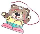 Kido Toys Lacing Bear, Threading bear