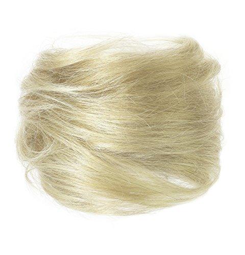 American Dream Luxueux Chignon 100 % Cheveux Humains Couleur 24 Blond Soleil Menue