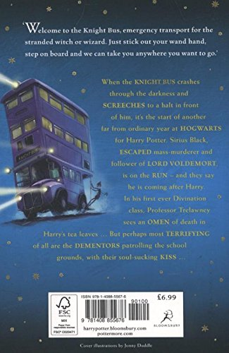 Image of Harry Potter and the Prisoner of Azkaban: 3/7 (Harry Potter 3)