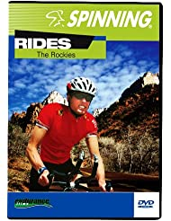 Spinning® Fitness DVD Rides The Rockies - Bicicletas estáticas y de spinning para fitness ( interior ) , color n / a, talla NA