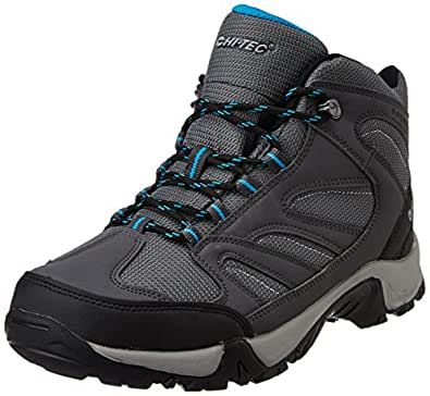 Hi-tec Unisex Pioneer Wp Charcoal, Cool Grey and Black Trekking and Hiking Boots -11 UK