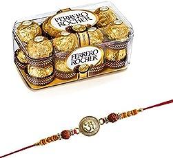 SFU E Com Ferrero Rocher Chocolate 16 Pieces with Rakhi (FFF7)