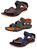 #7: Tempo Men's Combo Pack of 3 Floaters Sandals