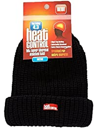 Heat Control Thermal Insulated Hat Mens Black