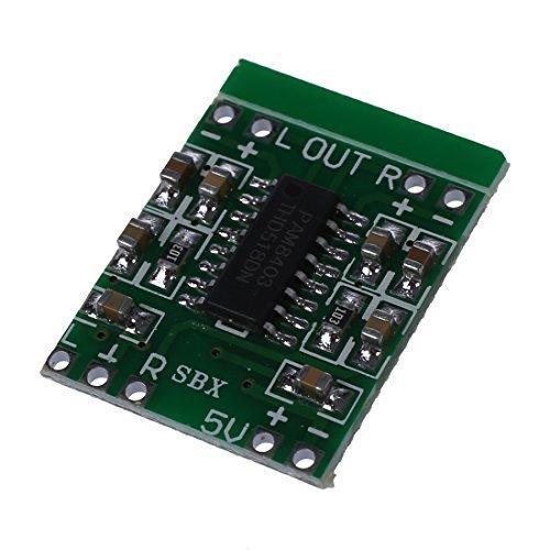 TOOGOO(R) PAM8403 Audio Modul USB DC 5V Class D Digital Verstaerker Amplifier Board LCD