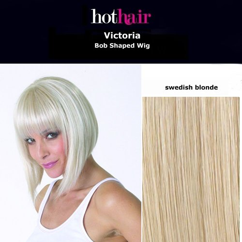 ücke in Bob-Style Swedish Blonde (Victoria Blonde Perücke)