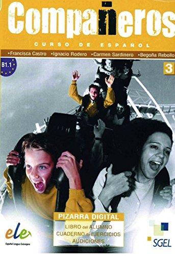 Compañeros 3: Curso de español / DVD-ROM mit Materialien für PC und Whiteboard