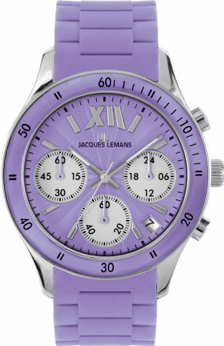 Jacques Lemans Sports Damen-Armbanduhr Rome Sports 1-1587H