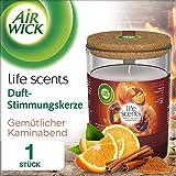 Airwick Duft-Stimmungskerze Gemütlicher Kaminabend