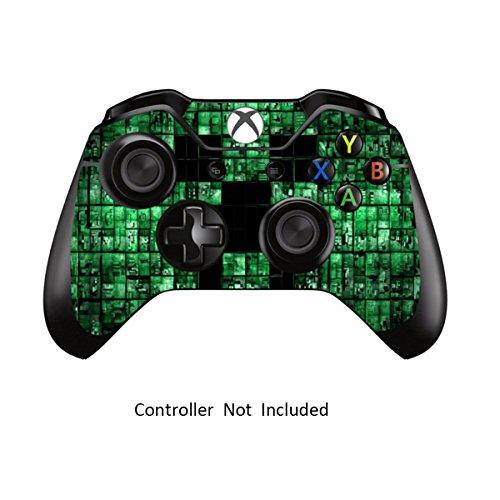 Designfolie Sticker - Vinyl Aufkleber Schutzfolie Skin für Xbox One Controller Green Digicamo ()