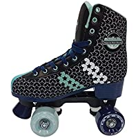KRF Childrens Disco Ethnic Quad Roller Skates