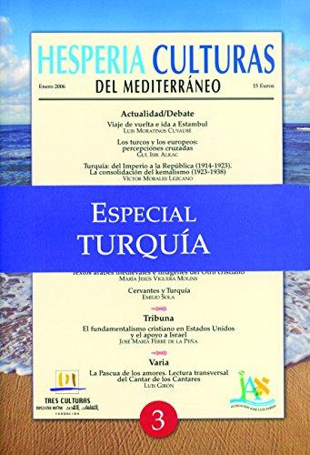Hesperia Culturas del Mediterráneo Especial Turquía por Luis Moratinos Cuyaubé