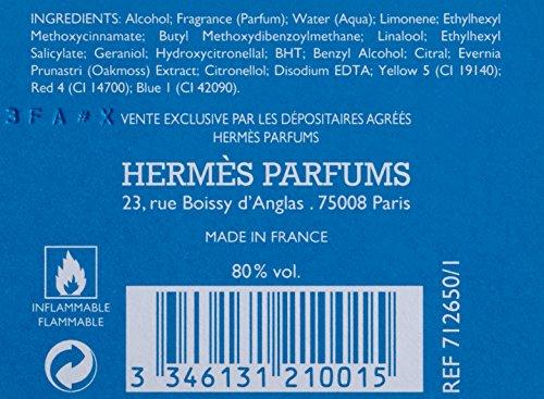 Hermès Un Jardin En Mediterranée unisex Eau de Toilette Vaporisaeur / Spray 100 ml, 1er Pack (1 x 100 ml)