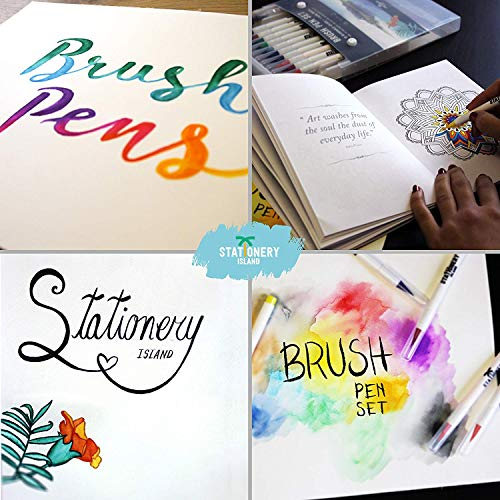 Stationery Island Brush Pen Set - 2