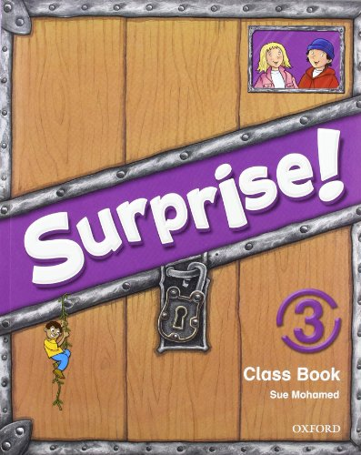 Surprise 3 course book pack con multirom