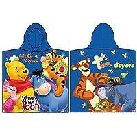 Disney Winnie Pooh Poncho Kapuzenbadetuch 60x120 cm Dunkelblau