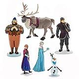 Disney Official Store surgelati Set di 6 Figurine Figure Playset età 3+