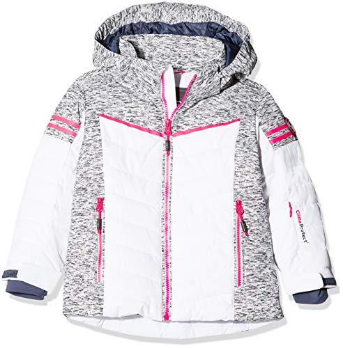 CMP Mädchen Wattierte 5000 Twill Skijacke Jacke Bianco 140