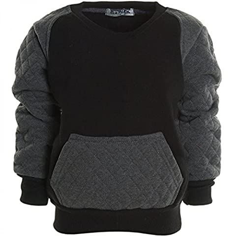 BEZLIT - Sweat-shirt à capuche - Blouson - À logo - Col Rond - Manches Longues - Garçon - Noir - 6