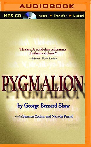 Pygmalion by George Bernard Shaw (2016-05-10)