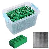 Katara 1827 - Bausteine 520 Stück, Kompatibel mit Lego, Sluban, Papimax, Q-Bricks, Bauklötze Inklusive Grundplatte, Gr