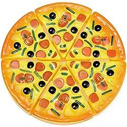 Kofun Kinder Kinder Küche Pizza Party fast food Scheiben schneiden Pretend Play Spielzeug Lebensmittel