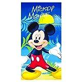 Disney Mickey Mouse Strandtuch/Badetuch Microfaser, Art. 3284, 70 x 140 cm