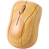 Forrader mg95-n 2,4GHz Kabellose Maus Handgemachte Bambus Gesunde Wheel optische Maus für PC Laptop