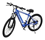Elektron B368 - Electric Hybrid Bicycle 17 inches (Blue)