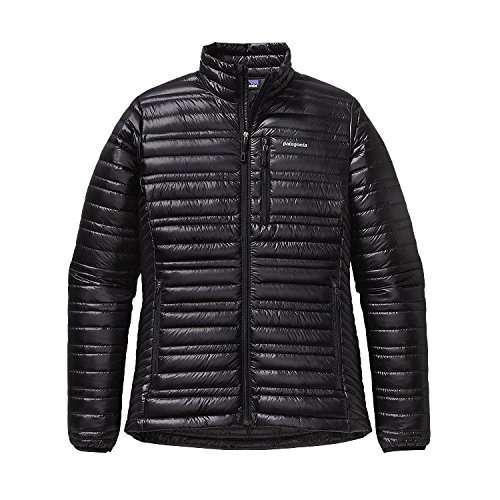 Patagonia Damen Jacke Ultralight Down, Black, L, 84762 (Womens Bekleidung Patagonia Down Jacket)