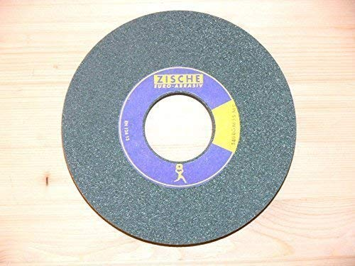 Schleifscheibe 175 x 25 x L 50,8/32mm, SIC, Korn 80, für Hartmetall, Guss, Keramik, Schleifbockscheibe