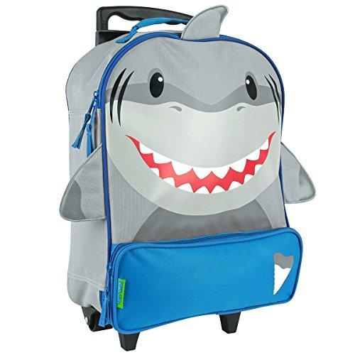 mini-trolley-maleta-pequena-con-ruedas-de-tiburon-en-colores-gris-y-azul
