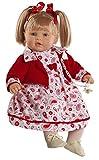 Berbesa 80291  - Baby Dulzona Puppe - 62 cm, schwarz