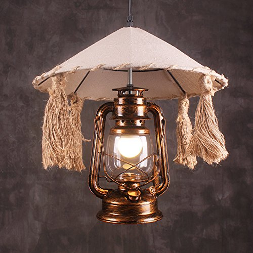 AGECC Retro Nostalgie Antike Bügeleisen Bar Treppe Cafe Kreative Lampe Kronleuchter 100 * 58 * 40 Cm Laterne