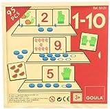 Goula - Juego 1-10, asociación de números (Diset 55131)