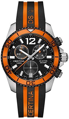 Certina Herren-Armbanduhr XL Chronograph Quarz Kautschuk C013.417.27.057.01