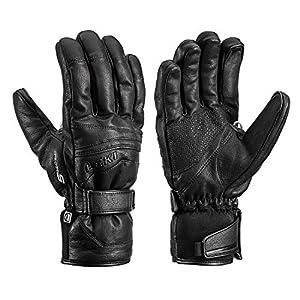 LEKI Fusion S MF Touch – Ziegenleder Handschuhe mit Trigger S