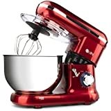Red Dihl Ka-Sm-126-Red 6 Speed Food Electric Stand Mixer 55 Litre 800 W Re