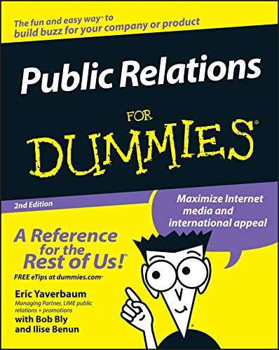 Public Relations For Dummies (English Edition)