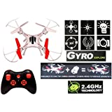 Drone Quadcopter Headless Mode One Key Return Features 6 Axis Stabilization System Gyro 4 Channel, Minion Style, 2.4ghz