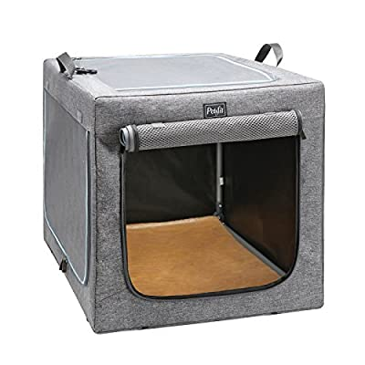 Petsfit Portable and Foldable Soft Travel Pet Home, Indoor/Outdoor Collapsible Soft Dog Crate by Xiamen JXD E-Commerce Co., Ltd.