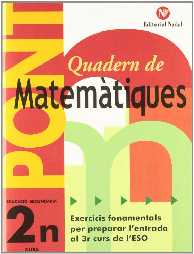 Pont matemàtiques, 2 ESO editado por Nadal-arcada s.l.